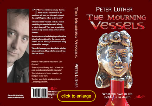 click here to enlarge the cover of Peter's new book